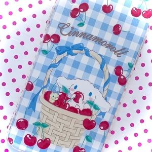 Kawaii Cherry Cinnamoroll iPhone XR Case - Lolita